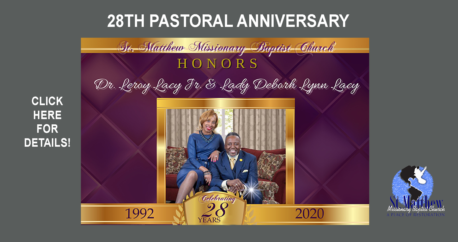 28th Pastoral Anniversary